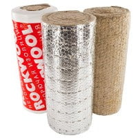 Рулоны ROCKWOOL  WIRED MAT
